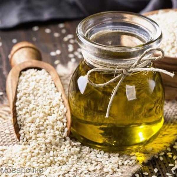 сиродавлена олія білого кунжуту